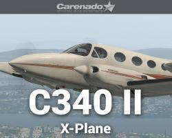 Cessna 340 II for X-Plane 11