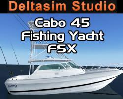 Cabo 45 Express Fishing Yacht