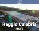 Airport Reggio Calabria (LICR) Scenery for MSFS