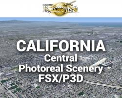 MegaSceneryEarth California Central Photoreal Scenery