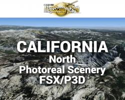 MegaSceneryEarth California North Photoreal Scenery for FSX/P3D