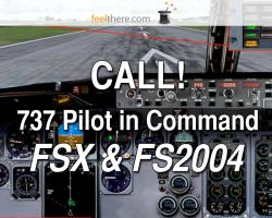 CALL! for 737 Pilot In Command (FSX & FS2004)