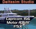 Capricorn 156 PRO Luxury Motor Yacht v2 for FSX