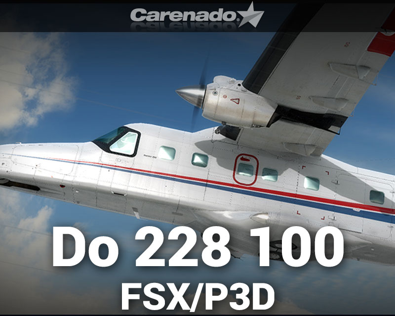 Dornier Do 228 100 HD Series for FSX/P3D