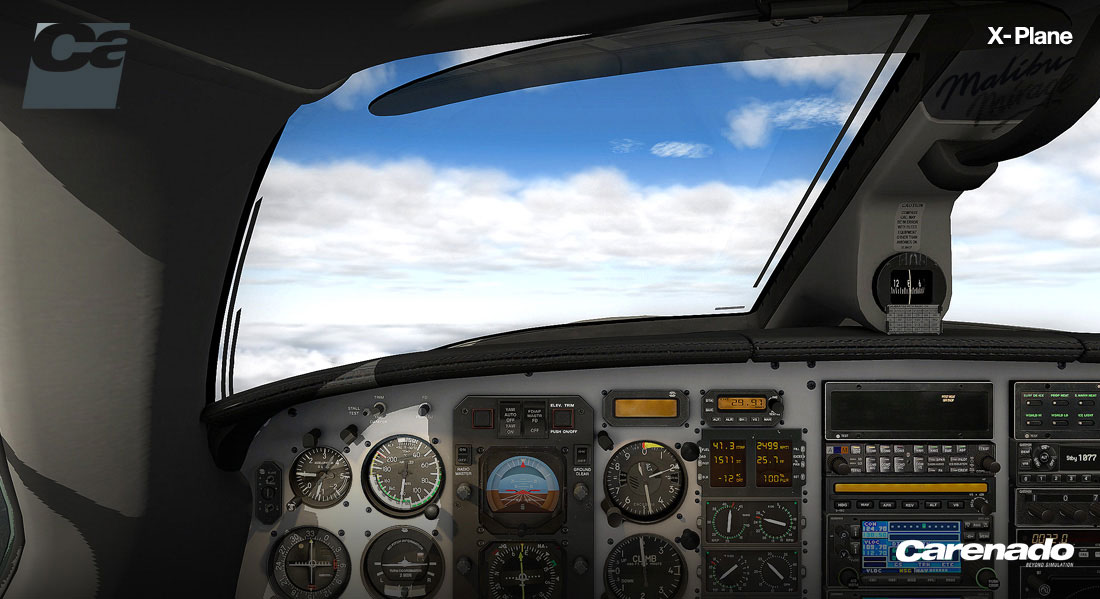 Piper PA-46-350P Malibu Mirage HD Series for X-Plane