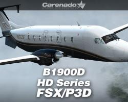 Beechcraft B1900D HD Series for FSX/P3D