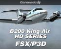 Carenado B200 King Air HD SERIES for FSX/Prepar3D