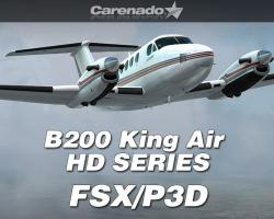 B200 King Air HD SERIES for FSX/P3D