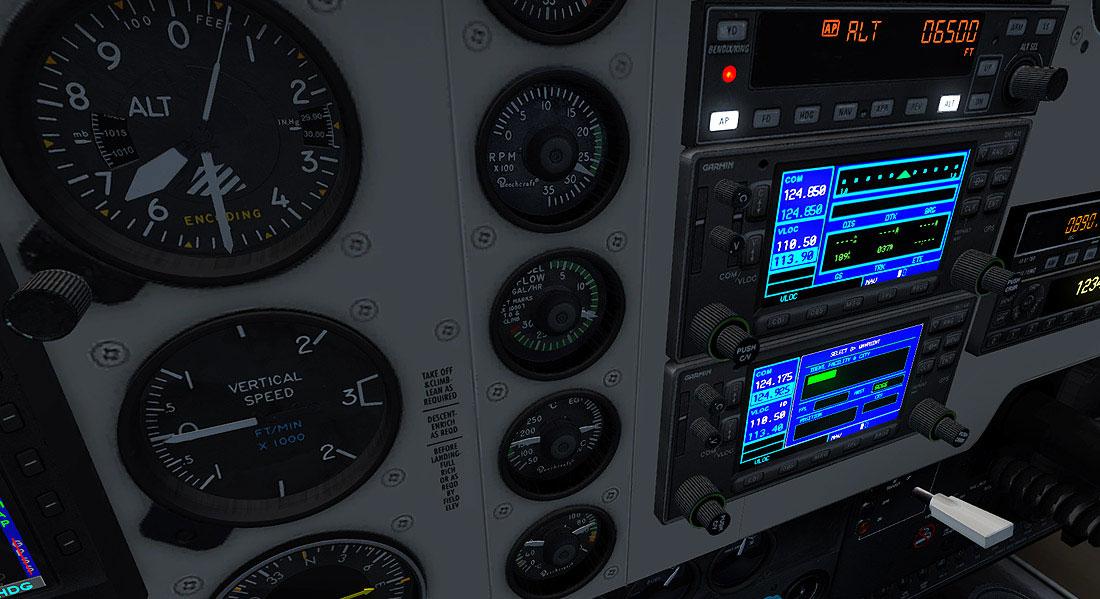 Beechcraft A36 Bonanza for FSX & Prepar3D