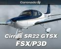 Carenado Cirrus SR22 GTSX Turbo HD Series for FSX/P3D