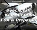 Beechcraft King Air C90B HD Series for FSX & Prepar3D