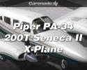 Piper PA-34 200T Seneca II for X-Plane