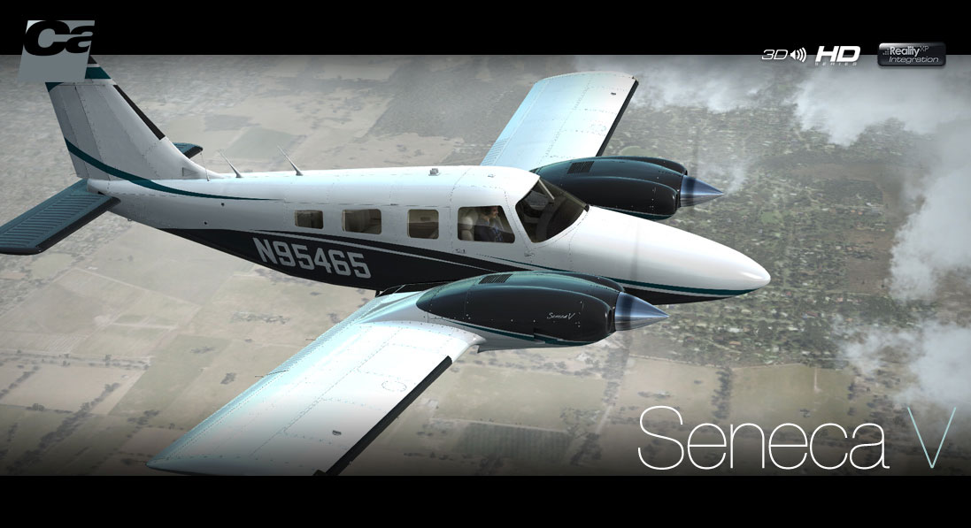 Piper PA-34 Seneca V for FSX/P3D