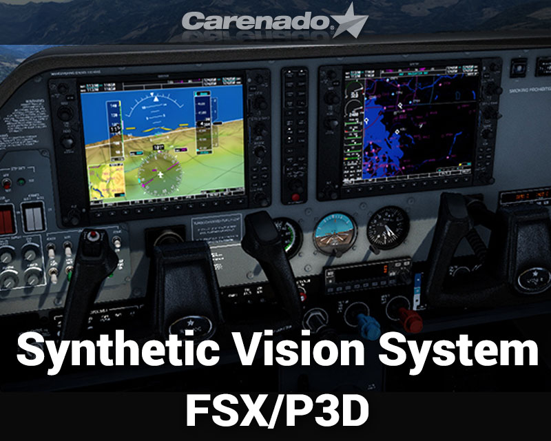 Synthetic Vision System for FSX/P3D