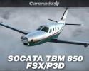 SOCATA TBM 850 HD Series for FSX/P3D
