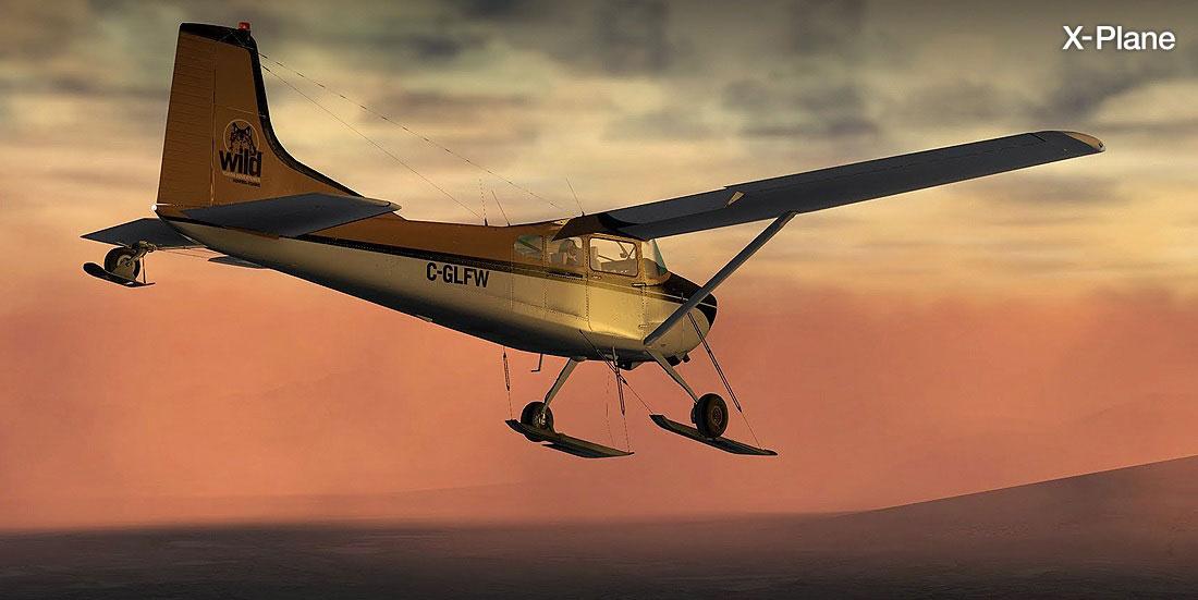 Cessna C185F Skywagon Bush Extension Pack for X-Plane