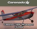 Cessna C185F Skywagon for FS2004