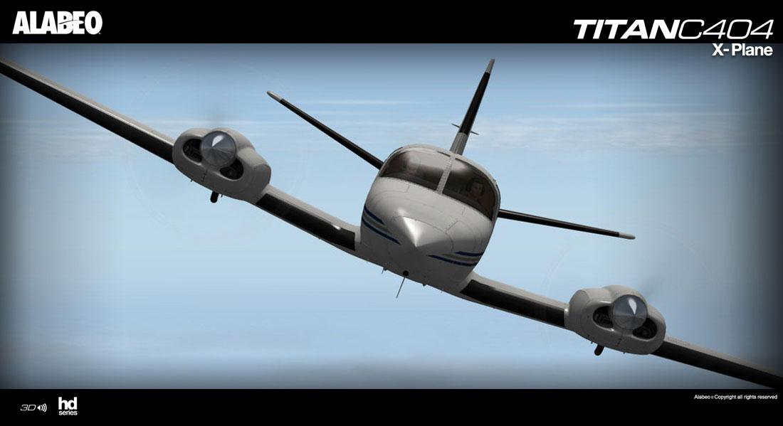 Cessna 404 Titan for X-Plane