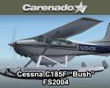 "Carenado Cessna C185F Skywagon ""Bush"" for FS2004"