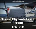 Cessna Skyhawk 172SP G1000 for FSX/P3D