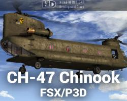 Boeing CH-47 Chinook for FSX/P3D