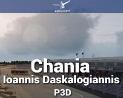 Chania - Ioannis Daskalogiannis Airport Scenery for P3D