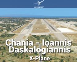 Airport Chania - Ioannis Daskalogiannis Scenery for X-Plane