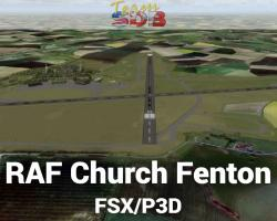 RAF Church Fenton Scenery