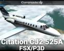 Cessna Citation CJ2 525A HD Series for FSX/P3D
