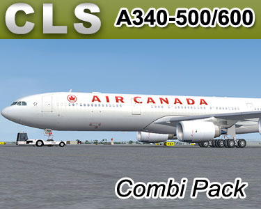 CLS Airbus A340-500/600 Combi Pack - FSX & FS2004