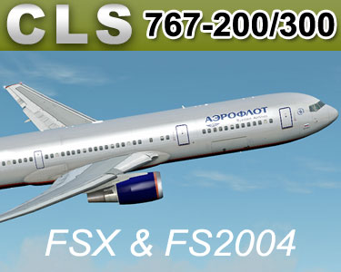 Boeing 767-200/300 for FSX & FS2004