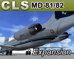 Livery Pack Expansion for MD-81/82 JetLiner