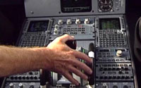 In-cockpit DVD screenshot