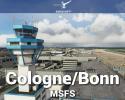 Airport Cologne/Bonn (EDDK) Scenery for MSFS