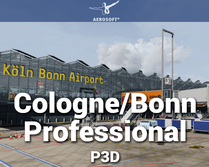 Cologne/Bonn Professional Scenery for P3D