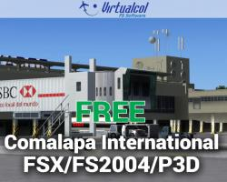 Free Comalapa International Scenery for FSX/P3D/FS2004