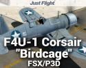 "F4U-1 Corsair ""Birdcage"" for FSX/P3D"