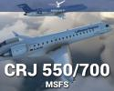 CRJ 550/700 Aircraft Add-on for MSFS