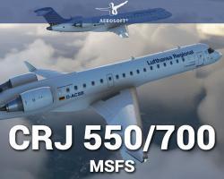 CRJ 550/700 Aircraft Add-on