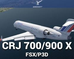 CRJ 700/900 X for FSX/P3D