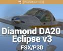 Diamond DA20 Eclipse v3.0 for FSX/P3D