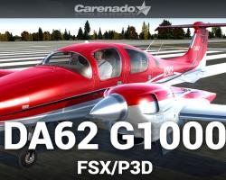 Diamond DA62 G1000 for FSX/P3D