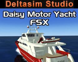 Daisy Motor Yacht Boat Add-On for FSX