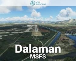 Dalaman International Airport (LTBS) Scenery