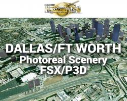 Dallas/Fort Worth Photoreal Scenery Ultra-Res Cities