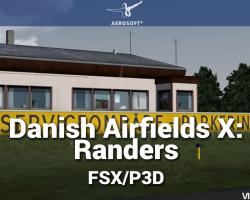 Danish Airfields X: Randers Scenery for FSX/P3D