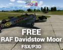 Free RAF Davidstow Moor Scenery for FSX/P3D