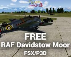 Free RAF Davidstow Moor Scenery