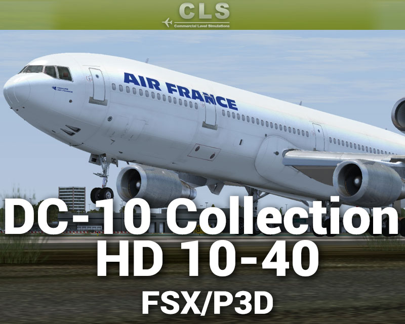 DC-10 Collection HD 10-40 for FSX/P3D