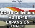DC-10 Collection HD 10-40 Livery Pack for FSX/P3D